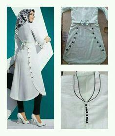 Batik Fashion, Abaya Fashion, Muslim Fashion, Fashion Dresses, Kurta Designs Women, Salwar Designs, Stylish Dresses, Casual Dresses, Pakistani Fashion Casual