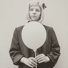 AURORA — I only need a white balloon to take me up above....