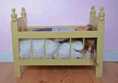 Ana White | Build a Fancy Baby Doll Crib | Free and Easy DIY Project and Furniture Plans