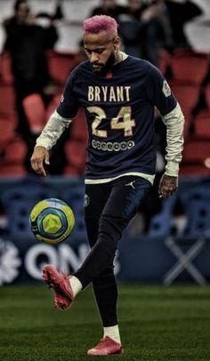 Neymar x Kobe Bryant - Neymar paid tribute to Kobe Bryant Best Football Players, World Football, Soccer Players, Neymar Barcelona, Neymar Jr Wallpapers, Cristiano Ronaldo Wallpapers, Goat Football, Football Shoes, Kobe Bryant 24