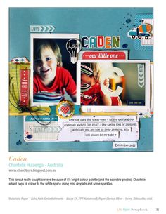 ISSUU - Life. Paper. Scrapbook. by Life Paper Scrapbook Scrapbook Paper, Scrapbooking, Online Publications, Be My Baby, 2 Photos, Lps, Baseball Cards, Scrapbooks, Memory Books
