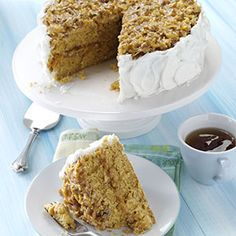 Butterscotch Cake Recipe from Taste of Home -- shared by Judy Lamon of Louisville, Tennessee