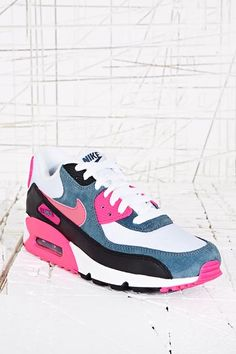 dbc4de223c56 Nike Air Max 90 Trainers in Pink at Urban Outfittersw Nike Joggers