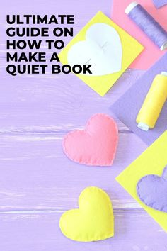 Find out how to make your first quiet book with awesome tips then browse tons of quiet book page ideas and patterns. Don't forget to grab a copy of the free planning guide so that you can make an awesome busy book in no time! #quietbook #quietbooks #quietbookideas #busybook