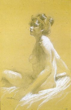 Model  Leon Bakst. 1905