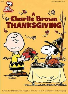 Tune in to ABC7 Tonight at 8/7c to watch A Charlie Brown Thanksgiving!  #peanutsspecials #ps #pnts #peanuts #schulz #snoopy #charliebrown #woodstock #acharliebrownthanksgiving #abc