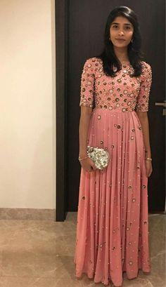 Saree Gown, Bridal Lehenga Choli, Anarkali Dress, Anarkali Suits, Half Saree Designs, Silk Saree Blouse Designs, Lehenga Designs, Indian Gowns Dresses, Bridal Dresses