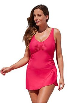 e7377bf700 Shore Club Womens Plus Size Guava Sarong Swimdress 22 Purple. This is  surely a great product!