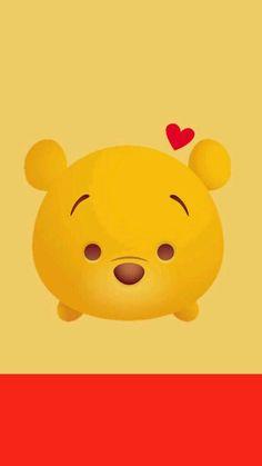 Winnie the Pooh Cellphone Wallpaper Bear Wallpaper, Cartoon Wallpaper, Disney Wallpaper, Cute Disney, Disney Art, Cellphone Wallpaper, Iphone Wallpaper, Mobile Wallpaper, Tsum Tsum Wallpaper