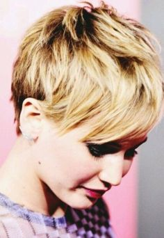 jennifer+lawrence+haircut+short | Style Like Hair Cut...