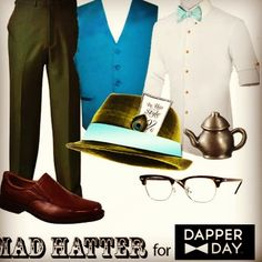 Mad Hatter look for Dapper Day at Disneyland