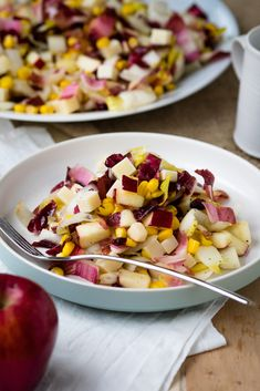Apple and Endive Salad that is perfect for the fall | The Worktop