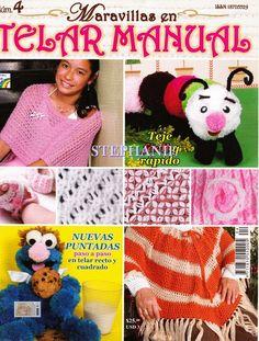 Revistas de Manualidades Para Descargar: Maravillas en Telar Manual Nº 4