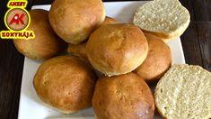 Vizes zsemle recept egyszerűen / Anzsy konyhája Baked Goods, Bakery, Make It Yourself, Cooking, Youtube, Brot, Diy Home Crafts, Kitchen, Youtubers