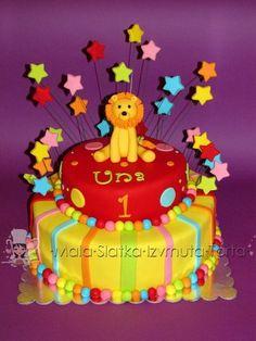 Lion cake  Cake by tweetylina
