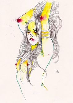 Water Color Lady | Conrad Roset