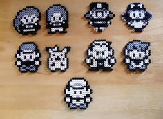 Old school Pokemon character sprites done in Perler Beads. Melty Bead Patterns, Pearler Bead Patterns, Perler Patterns, Beading Patterns, Hama Beads Pokemon, Diy Perler Beads, Perler Bead Art, Pixel Art, Arte 8 Bits