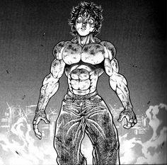 Baki Hanma by Ruanitodelaluna on DeviantArt Anime Couples Drawings, Cartoon Drawings, Martial Arts Anime, Anime Demon, Manga Anime, Cyberpunk Anime, Yu Yu Hakusho Anime, Manga Tattoo, Character Art