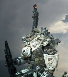 Titanfall Concept by Jeremy Thurman