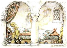 Sleeping Beauty - Tales of the Efteling by Martine Bijl and Anton Pieck