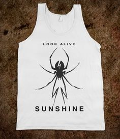 """Look Alive, Sunshine"" -- My Chemical Romance shirt kinda really want it"
