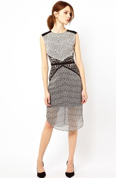 Rent this Warehouse Tribal Print Dress for $20! Buy it for $69.99.