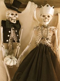 King and Queen Of The Skeleton Ball from my Polished Cover