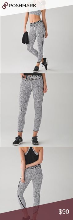 $$$SALE$$$ NWOT lululemon Real Quick Tight sz 6 Ew without tags! Made of their lightweight and super fast drying fabric. High waisted. 7/8 length. Has pockets in waistband. lululemon athletica Pants Leggings