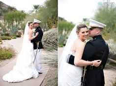 Intimate moments with the happy couple at JW Marriott Camelback Resort & Spa. Credit: Cristi Owen Photography