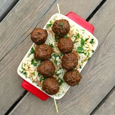 A Greek twist on the Italian classic, your family will love these flavor-packed gluten free meatballs seasoned with oregano, allspice and garlic.
