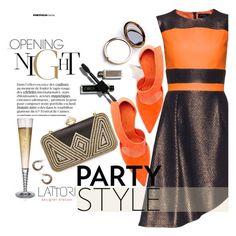 """""""Lattori dress:Party Style"""" by pokadoll ❤ liked on Polyvore featuring Lattori, Natasha Couture, Odeme, NARS Cosmetics, David Yurman and lattori"""
