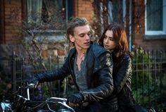 Jace and Clary Movie Still