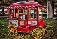 Popcorn cart at waterfront park | Flickr - Photo Sharing!