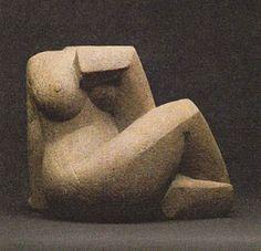 Frank Dobson, British sculptor. 1886-1963.