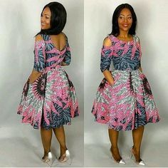 Top Ten Stylish And Unique Ankara Styles You Need To Rock - Dabonke African Inspired Fashion, African Print Fashion, Africa Fashion, Fashion Prints, Fashion Design, African Print Dresses, African Fashion Dresses, African Dress, African Fabric