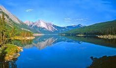 Medicine Lake, Jasper National Park, AB.