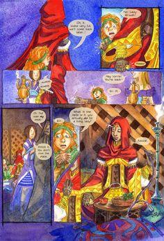 Skal - An online graphic novel by Jennie Gyllblad