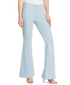 Find Ella Moss High Waist Pinstripe Pull-On Flare Jeans (Blue Jay) online. Shop the latest collection of Ella Moss High Waist Pinstripe Pull-On Flare Jeans (Blue Jay) from the popular stores - all in one