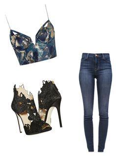 """""""Untitled #11"""" by ariana-krasniqi on Polyvore featuring J Brand, Zimmermann and La Perla"""