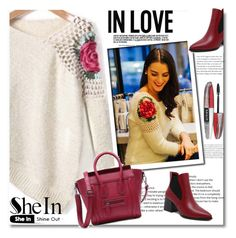 """Sweater,bag,SheIn 7/IV"" by sajra-de ❤ liked on Polyvore featuring L'Oréal Paris"