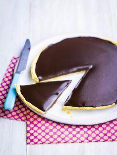 Tarte chocolat Carambar - Recette de cuisine Marmiton : une recette
