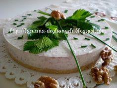 La cucina degli Angeli: Cheesecake al gorgonzola