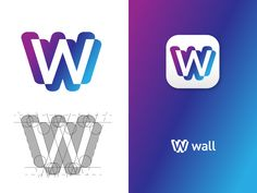 Logo Design WALL by Antonio Calvino