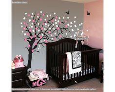 Elegant cherry blossom tree, αυτοκόλλητο τοίχου 180 cm , δειτε το!