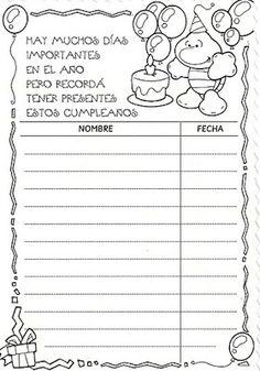 EL AVIONCITO DE LOS SUEÑOS.: Notitas para los padres y familiares. Primary Activities, School Items, Teacher Notes, Anchor Charts, Back To School, Acting, Kindergarten, Crafts For Kids, Preschool
