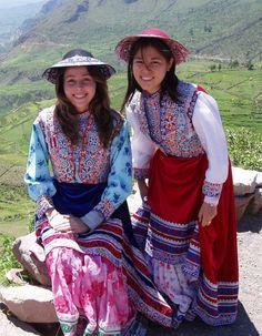 TRAJES TIPICOS DEL PERU Traditional Peruvian Dresses wititi