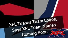 We don't know precisely when the XFL team names and logos will come out. It looks like XFL fans might get teased a bit before they do. Fans have been clamori. Xfl Teams, Team Names, Coming Soon, Team Logo, Fans, Sayings, Logos, Lyrics, A Logo
