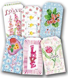 Valentine Gift Tags - Susan Branch