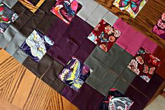 Molly's Butterfly Quilt by maureencracknell, via Flickr