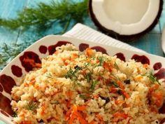 Гаджар Пулау – рис по индийски http://feedproxy.google.com/~r/anymenu/hMaC/~3/843VxyiIKYM/ Рис в Индии стоит на первом месте и его готовят как в бедных, так и в самых богатых семьях. Рис подают в кафе и ресторанах и на обед, и на ужин. Мы будем готовить блюдо, которое очень схоже с нашим пловом, но первая же съеденная ложка, скажет вам о том, что оно имеет особенный вкус